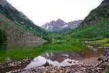 Maroon_Bells_023_07252020 - Looking across Maroon Lake towards the Maroon Bells
