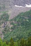 Maroon_Bells_251_07252020 - Direct look focused on the cascade beneath the North Maroon Peak
