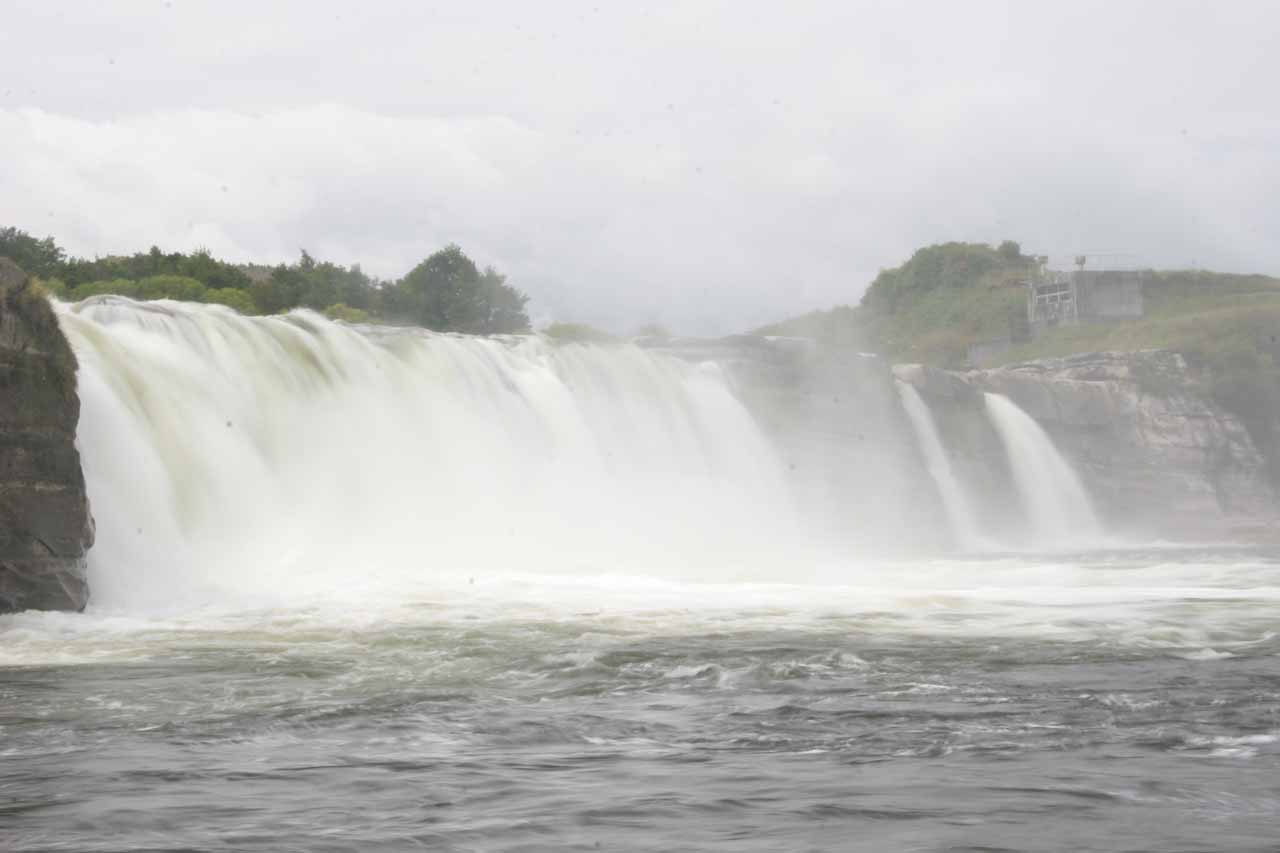 A broad and more focused long exposed look at Maruia Falls