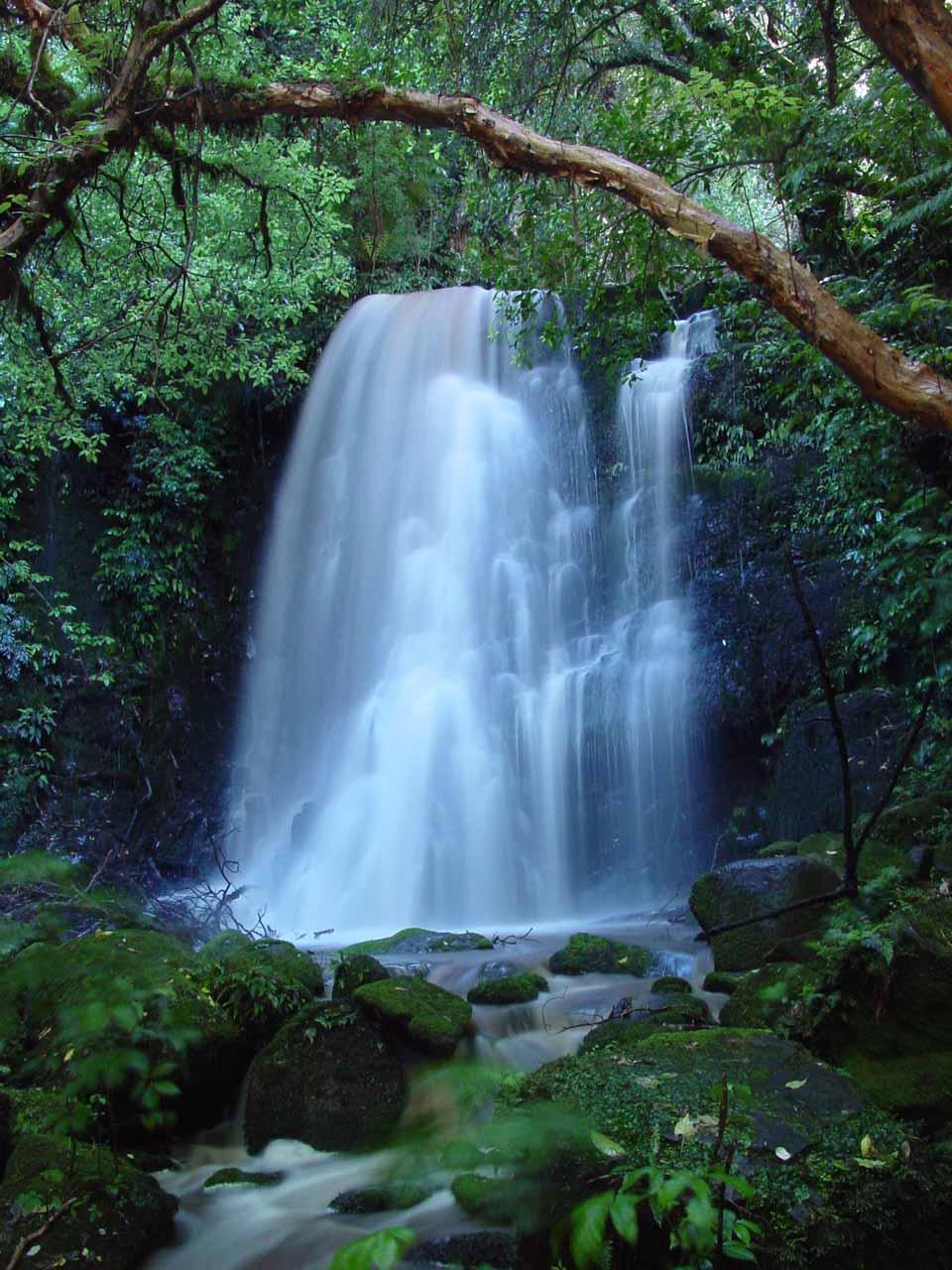 Matai Falls in over 1 second exposure
