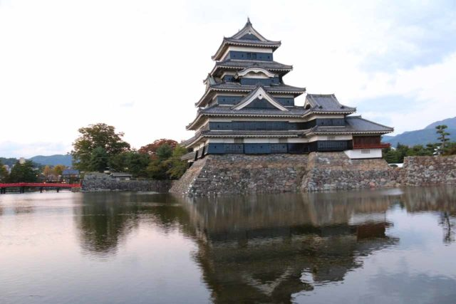 Matsumoto_023_10192016 - Shirahone Onsen was pretty much right in between the cities of Takayama and Matsumoto.  Matsumoto was most known for its impressive castle shown here