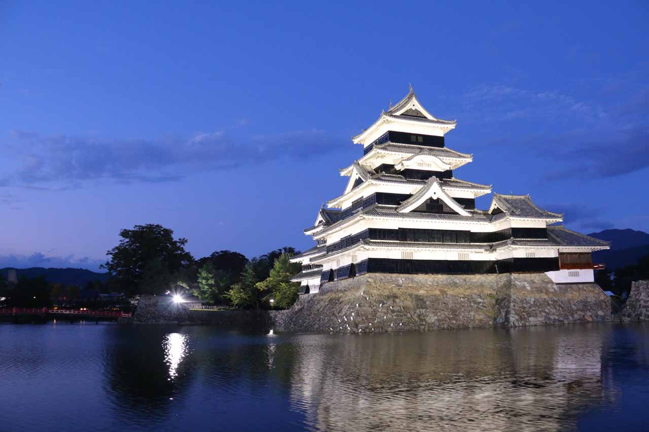 To the east of Hirayu Falls was the city of Matsumoto. The city was probably best known for the Matsumoto Castle, which was a UNESCO site