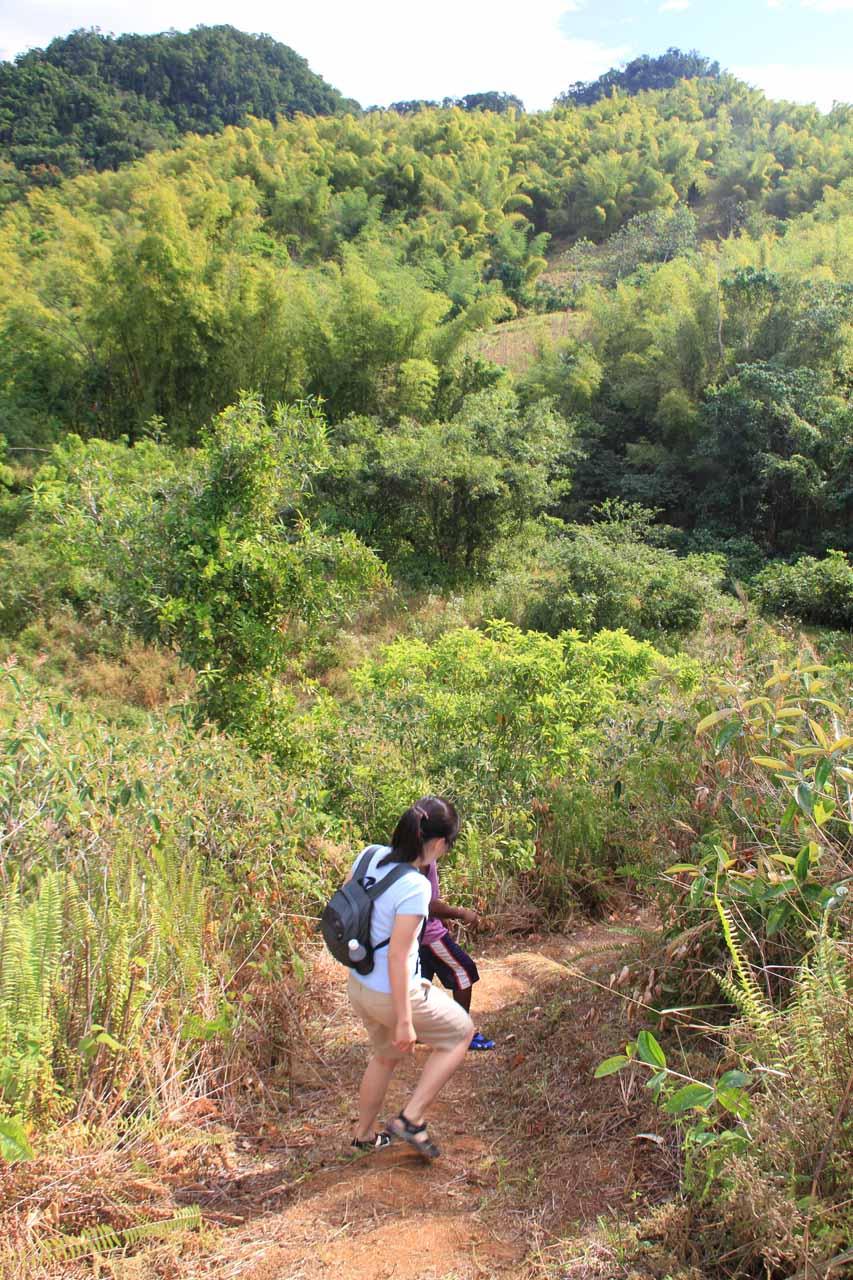 More dry walking