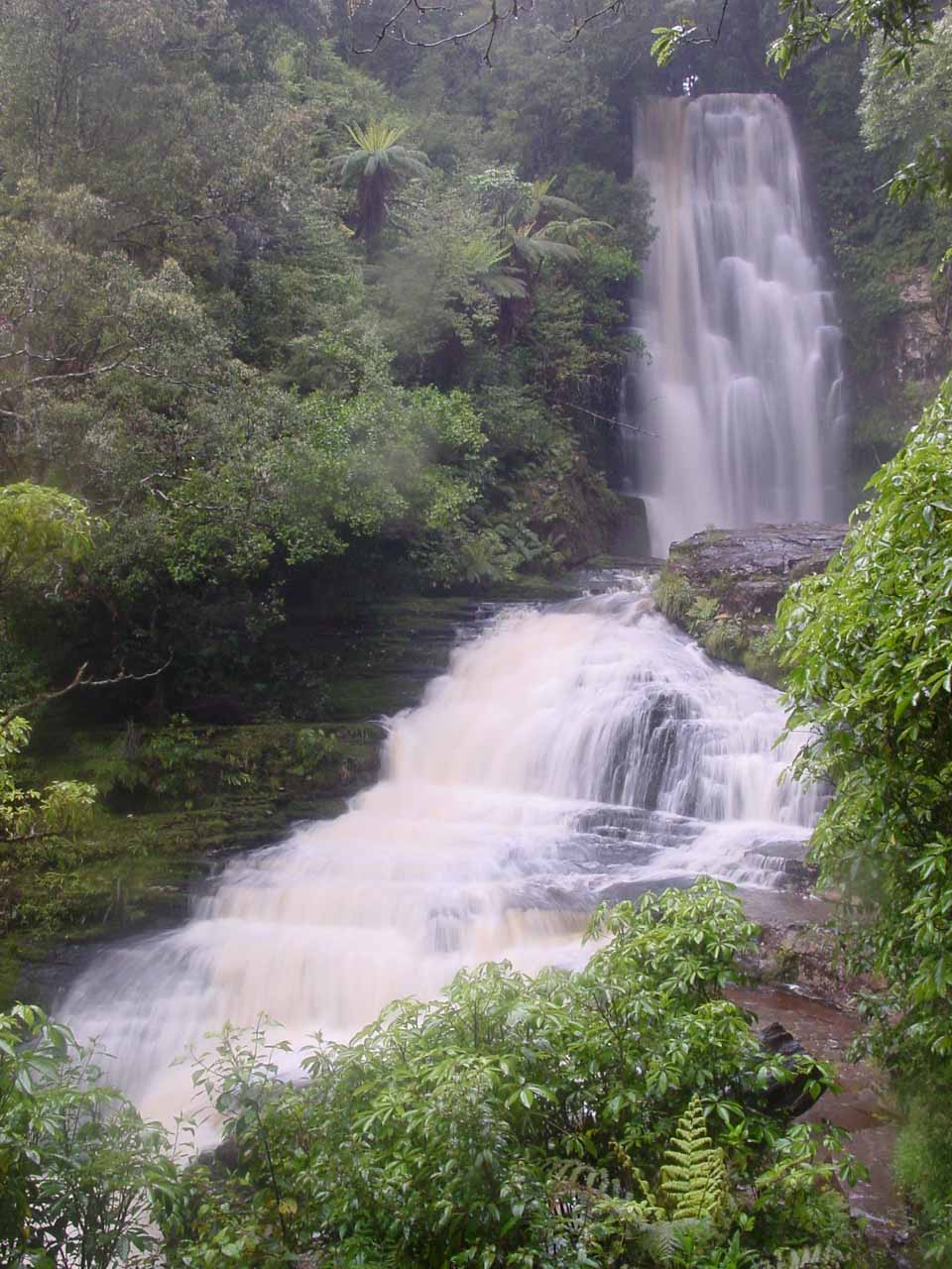 Long exposed look at the attractive McLean Falls