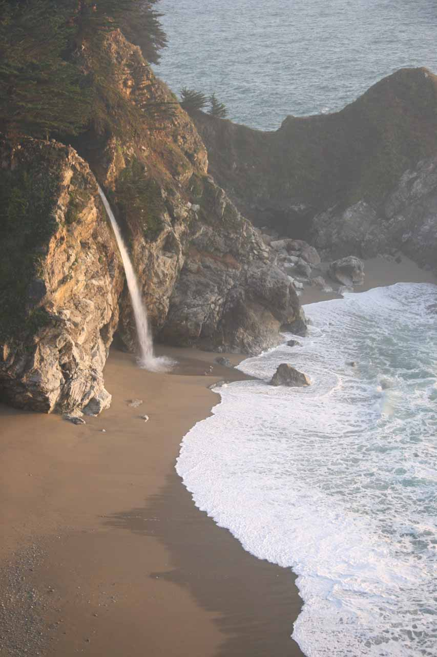 McWay Falls nestled in the gorgeous McWay Cove