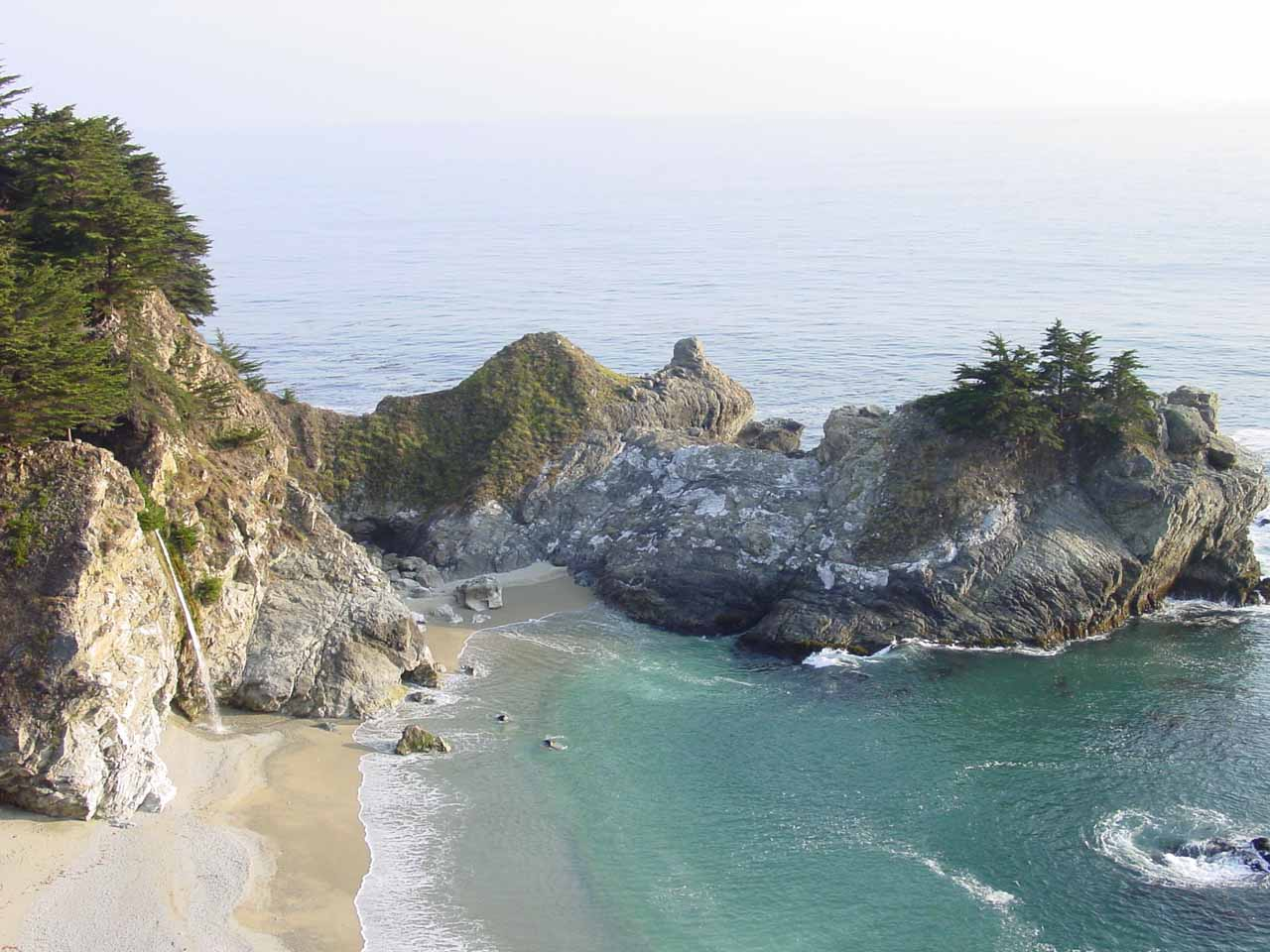 The jaw-dropping beauty of the scenically located McWay Falls