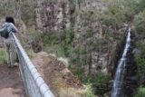 Meetus_Falls_17_059_11252017 - Context of Julie at the Meetus Falls Lookout checking out the waterfall itself during our November 2017 visit