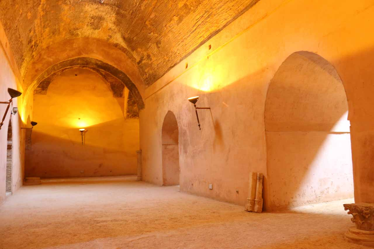 Inside the granaries of Dar el-Ma and Heri es-Souani