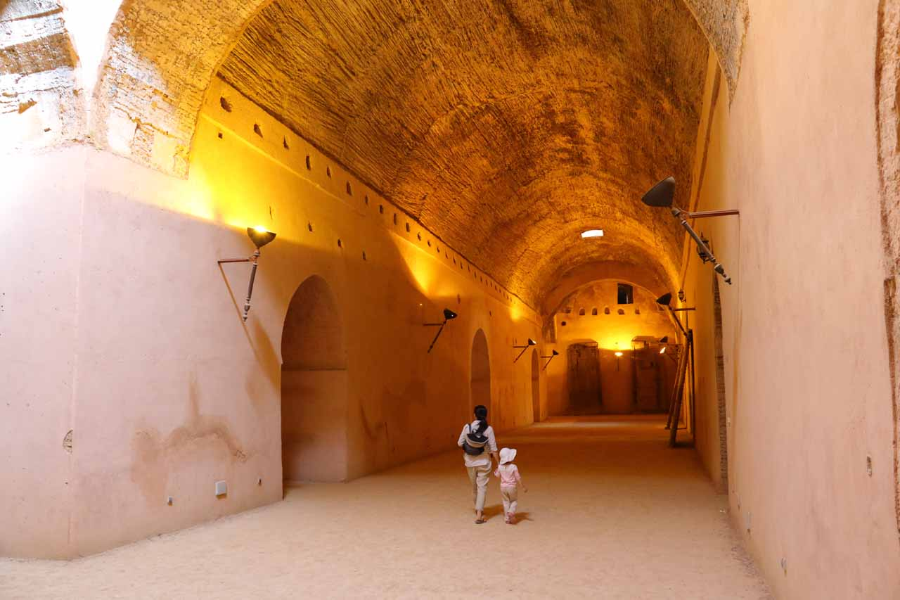 Inside the granaries of Dar el-Ma and Heri es-Souani