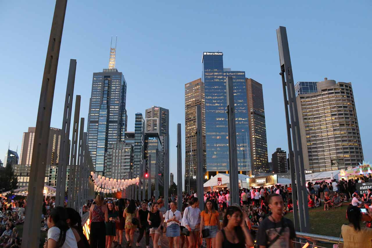 We eventually made our way to Melbourne, which was alive with energy, festivals, and events such as the Noodle Night Market that we stumbled upon during our visit in November 2017