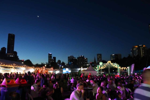 Melbourne_17_527_11222017 - Contrasting the laid back vibe of the Macedon Spa and Wine Country, Melbourne possessed more of a vibrant energy as it hosted numerous festivals and events like the Noodle Night Market shown here