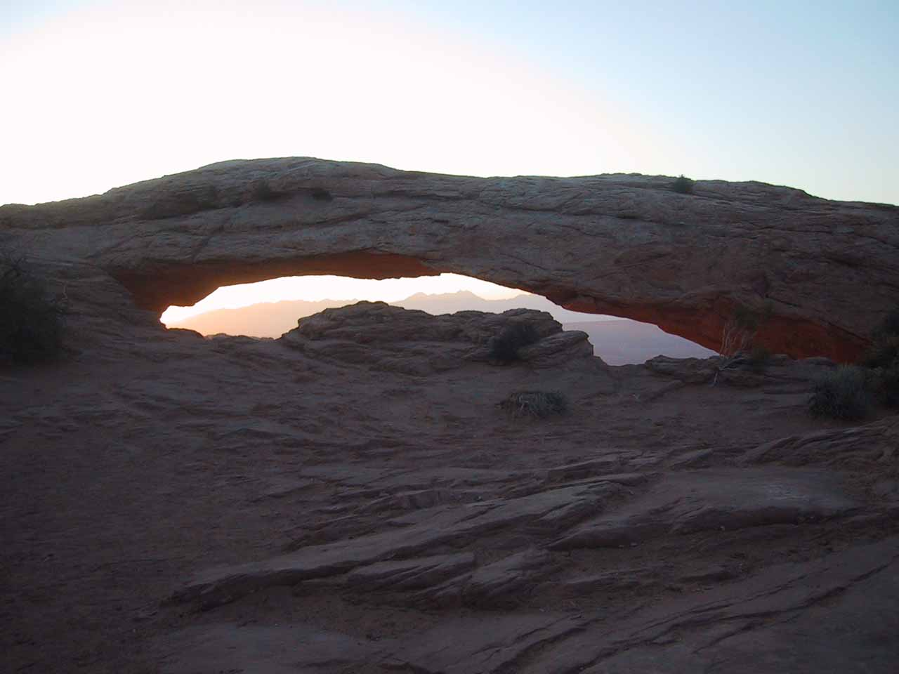 Mesa Arch before the sun went up