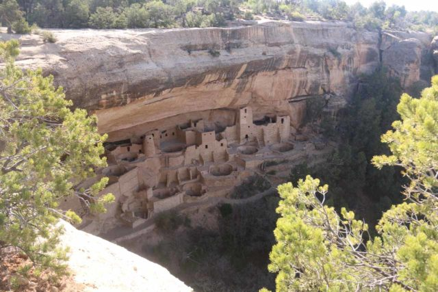 Mesa_Verde_023_04162017 - It was about a two-hour drive from Mesa Verde National Park to Telluride, but the Anasazi ruins and artifacts were certainly the highlight of our time in Southwestern Colorado