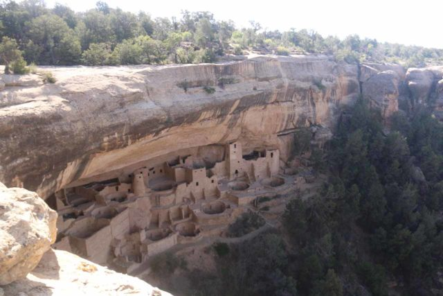 Mesa_Verde_029_04162017 - The mysterious cliff dwellings of the Anasazi at the Cliff Palace in Mesa Verde National Park