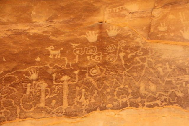 Mesa_Verde_226_04162017 - Apparently, Spring Break was a little early to do the guided tours to get closer to the main Mesa Verde ruins like the Cliff Palace, but we did do the self-guided Petroglyphs Trail