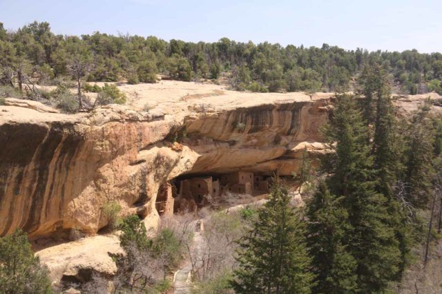 Mesa_Verde_270_04162017 - It was about a two-hour drive from Mesa Verde National Park to Telluride, but the Anasazi ruins and artifacts were certainly the highlight of our time in Southwestern Colorado