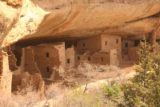 Mesa_Verde_279_04162017 - Zoomed in look at the restored ruins of the Spruce Tree House in Mesa Verde National Park