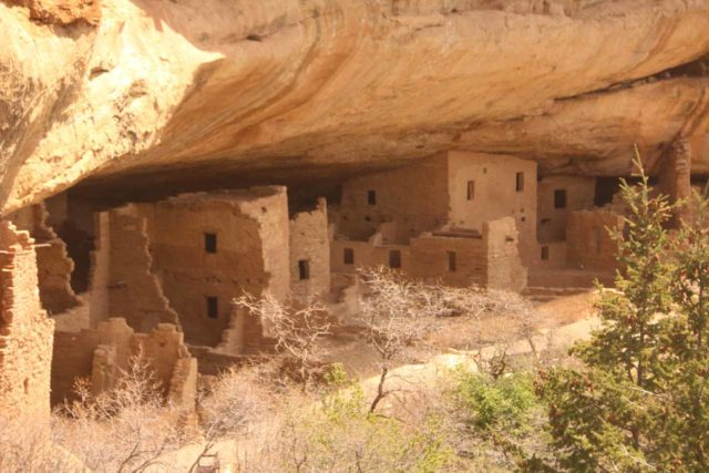 Mesa_Verde_279_04162017 - It was about a three-hour drive from Mesa Verde National Park to Ouray, but the Anasazi ruins and artifacts were certainly the highlight of our time in Southwestern Colorado