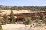 Mesa_Verde_290_04162017 - Last look back at the overlook of the Spruce Tree House in Mesa Verde National Park