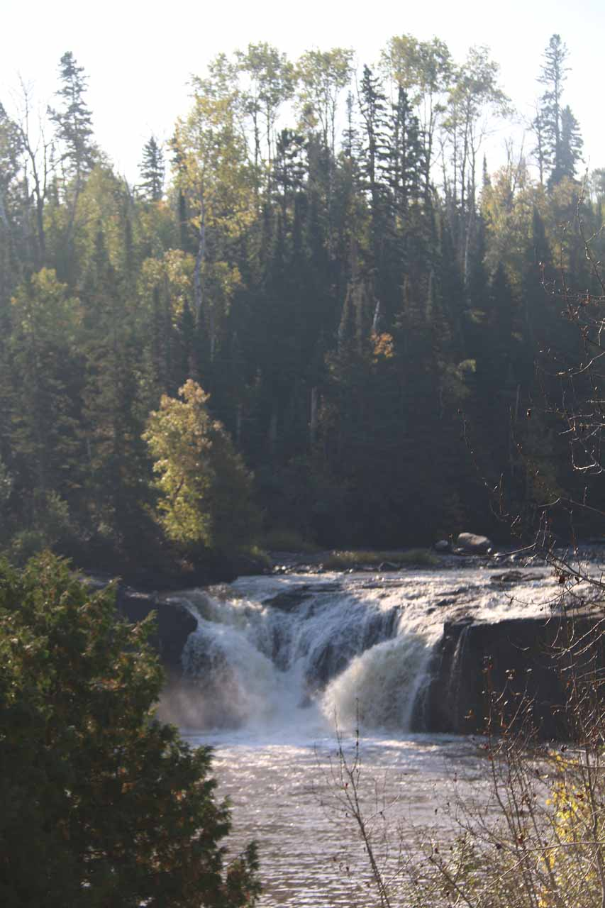 Middle Falls of the Pigeon River