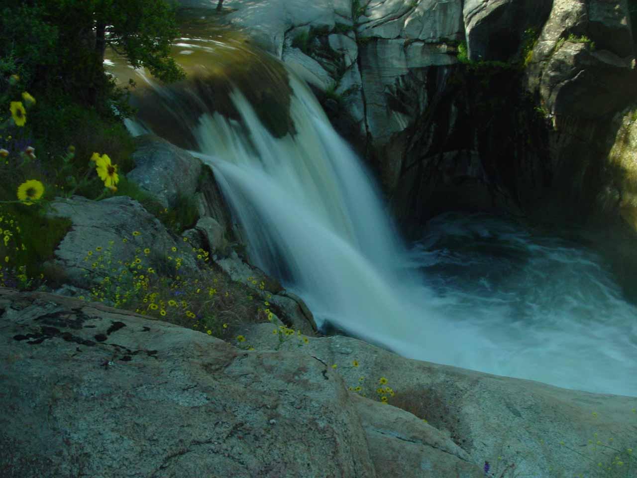 Middle Fork Tule River Falls