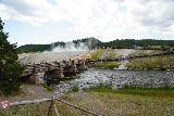 Midway_Geyser_Basin_010_08032020 - Looking across the Firehole River towards the boardwalk leading to the heart of the Midway Geyser Basin on our August 2020 visit