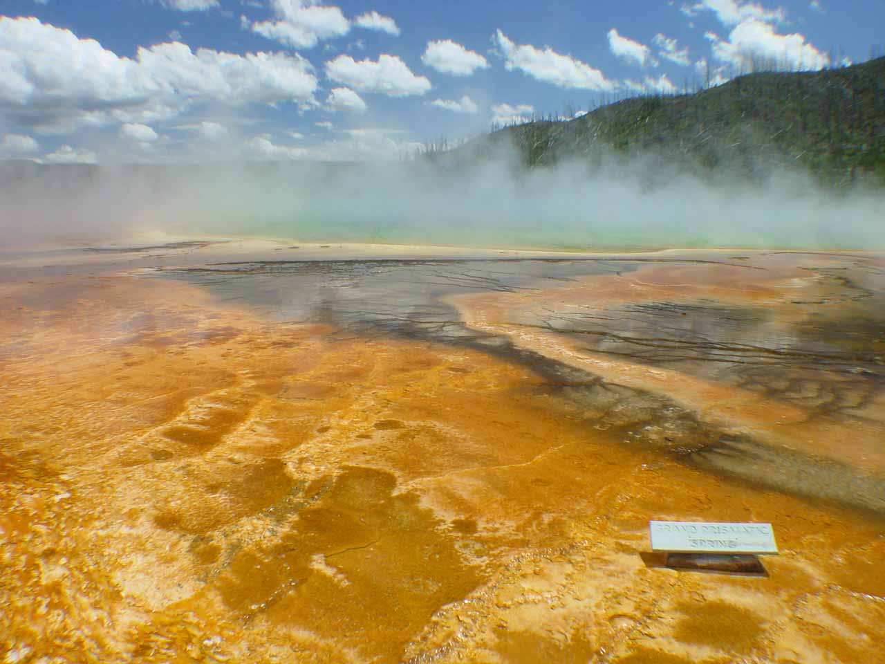More colors at the Grand Prismatic Spring