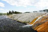 Midway_Geyser_Basin_041_08032020 - Looking across the pair of thermal runoff segments at the Midway Geyser Basin as seen in August 2020