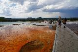 Midway_Geyser_Basin_095_08032020 - Context of the boardwalk by the Grand Prismatic Spring as seen on our August 2020 visit