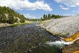 Midway_Geyser_Basin_151_08032020 - Last look upstream along the Firehole River on our way back to the parking lot to end our visit in August 2020