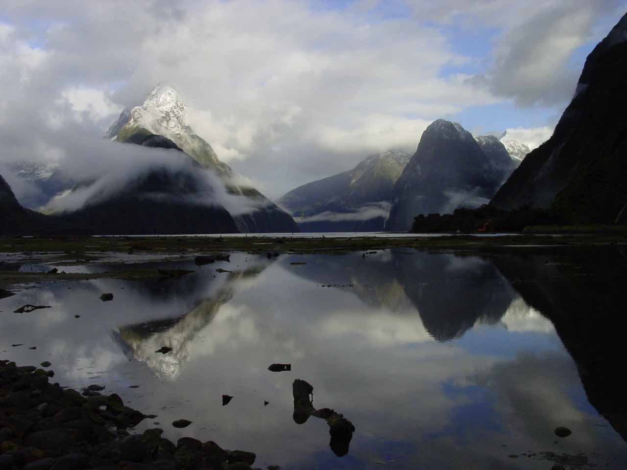 The Milford Sound in the South Island of New Zealand