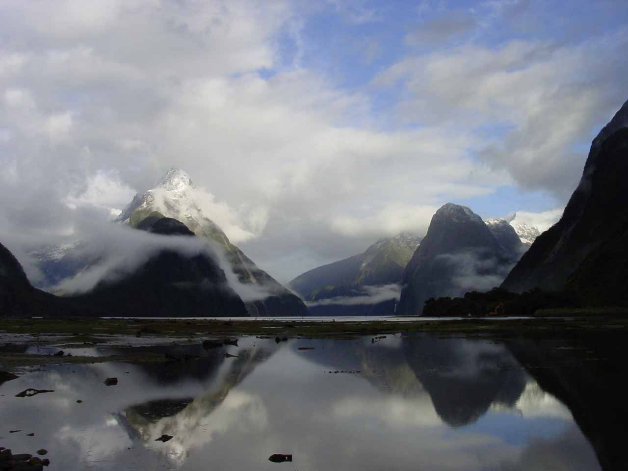 Early morning at Milford Sound