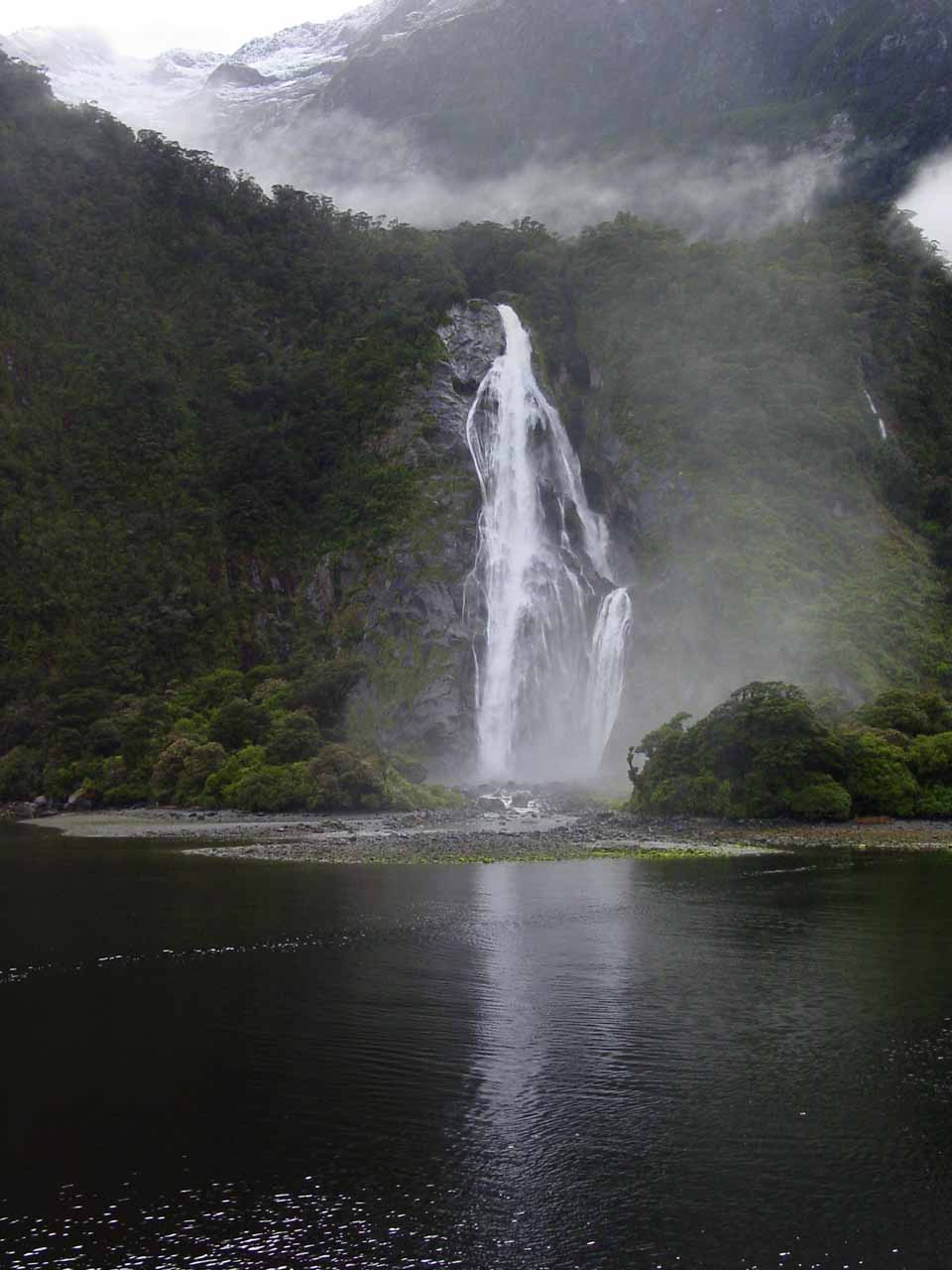 Another look at Bowen Falls from the Milford Sound Cruise