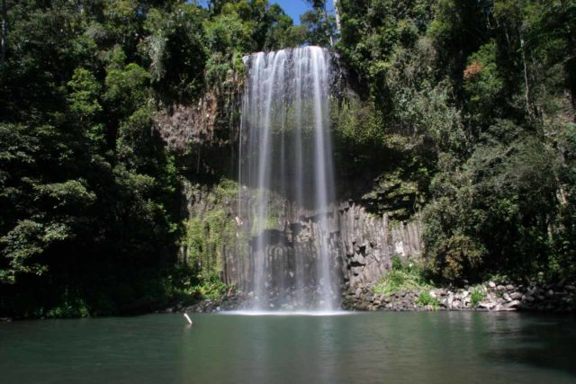 Millaa_Millaa_Falls_057_05172008 - At midday, the lighting at Millaa Millaa Falls were such that the shadows didn't have as much of an impact on the lighting