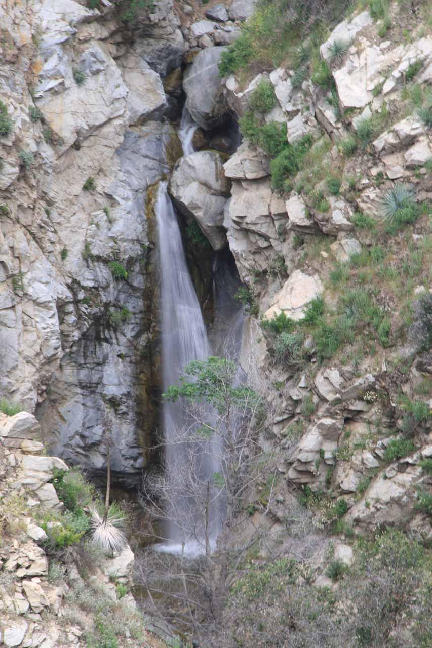 Closer look at Millard Falls