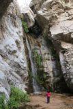Millard_Falls_16_078_01302016 - Tahia checking out Millard Falls