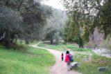 Millard_Falls_16_212_01302016 - Tahia and Julie approaching the car park for Millard Falls