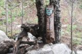 Millard_Falls_17_040_02192017 - I had never seen one of these totem boards of a fallen log before, but we happened to notice it during our February 2017 visit of Millard Falls
