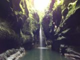 Millenium_Cave_056_jx_11232014 - Last look at the Hidden World Waterfall