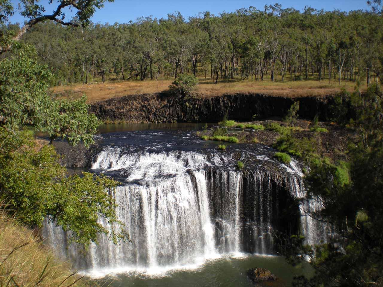 Last look at Millstream Falls using Julie's camera