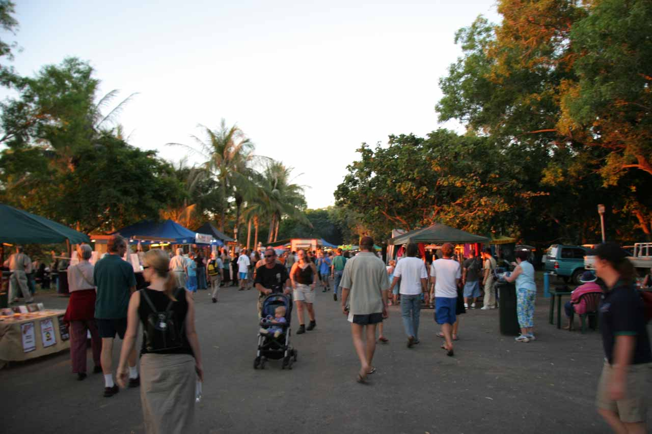 Prior to driving the couple of hours south from Darwin to Litchfield National Park, we had visited Darwin and Mindil Beach, which had quite an atmospheric evening market