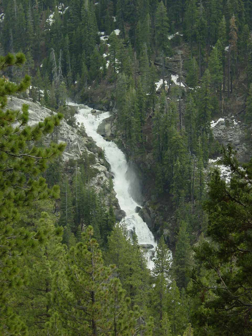 Unnamed Falls on the way to Mineral King