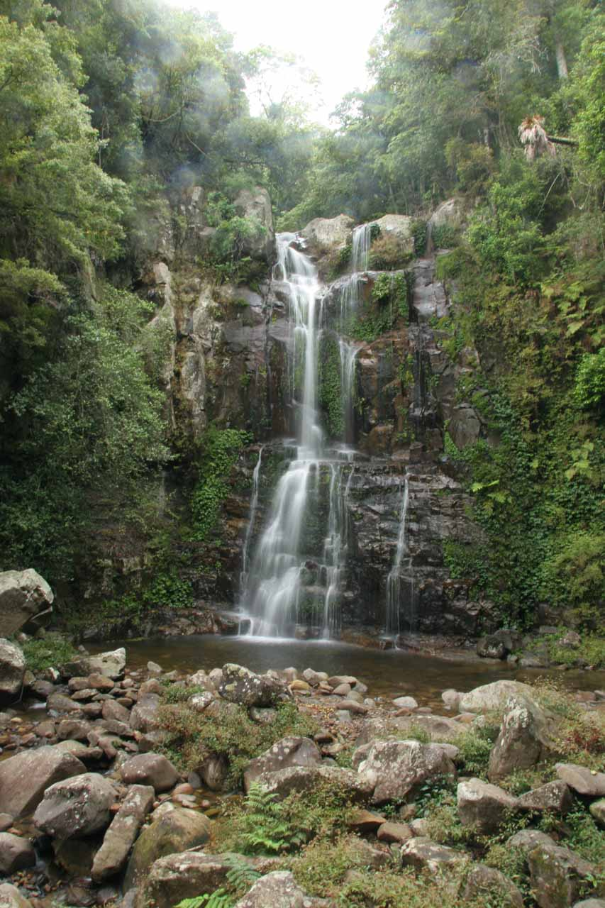 The Upper Minnamurra Falls