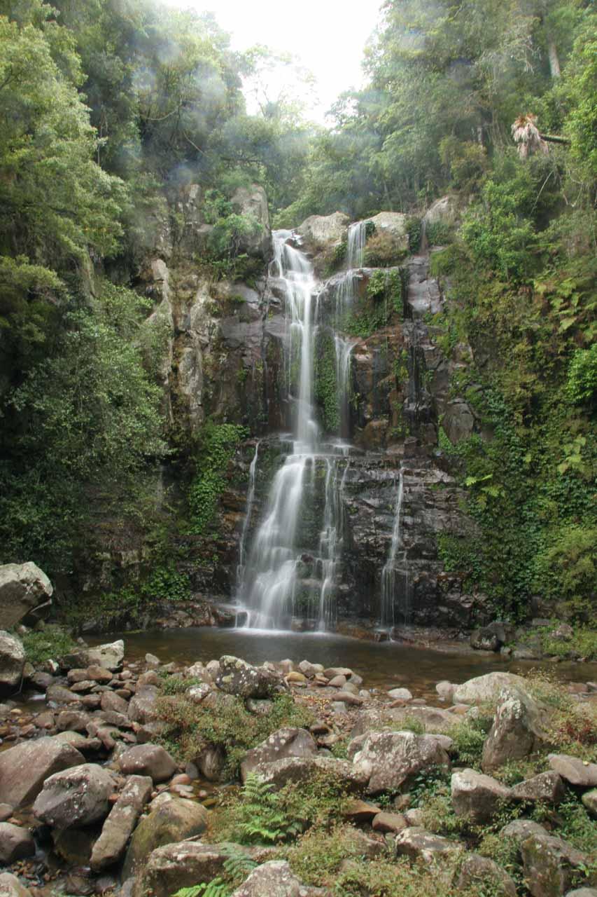 The Upper Minnamurra Falls