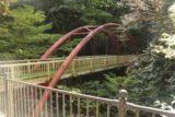 Minoh_Falls_007_10232016 - Looking towards a footbridge traversing the Minogawa River as we headed downstream towards the Minoh Falls