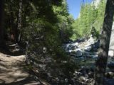 Mist_Falls_010_08272004 - The shaded Mist Trail that followed alongside the South Fork Kings River during my late August 2004 visit