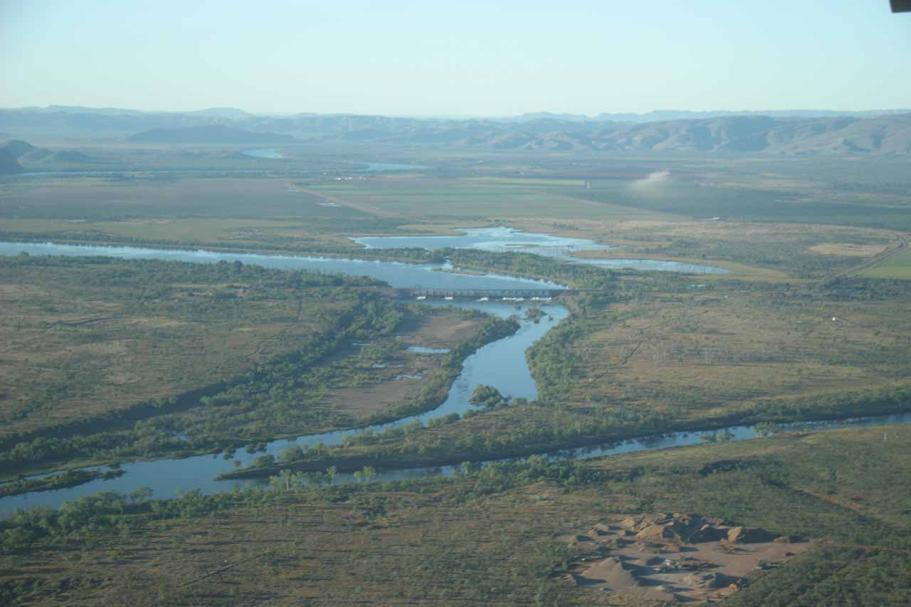 Looking over the Gibbs River