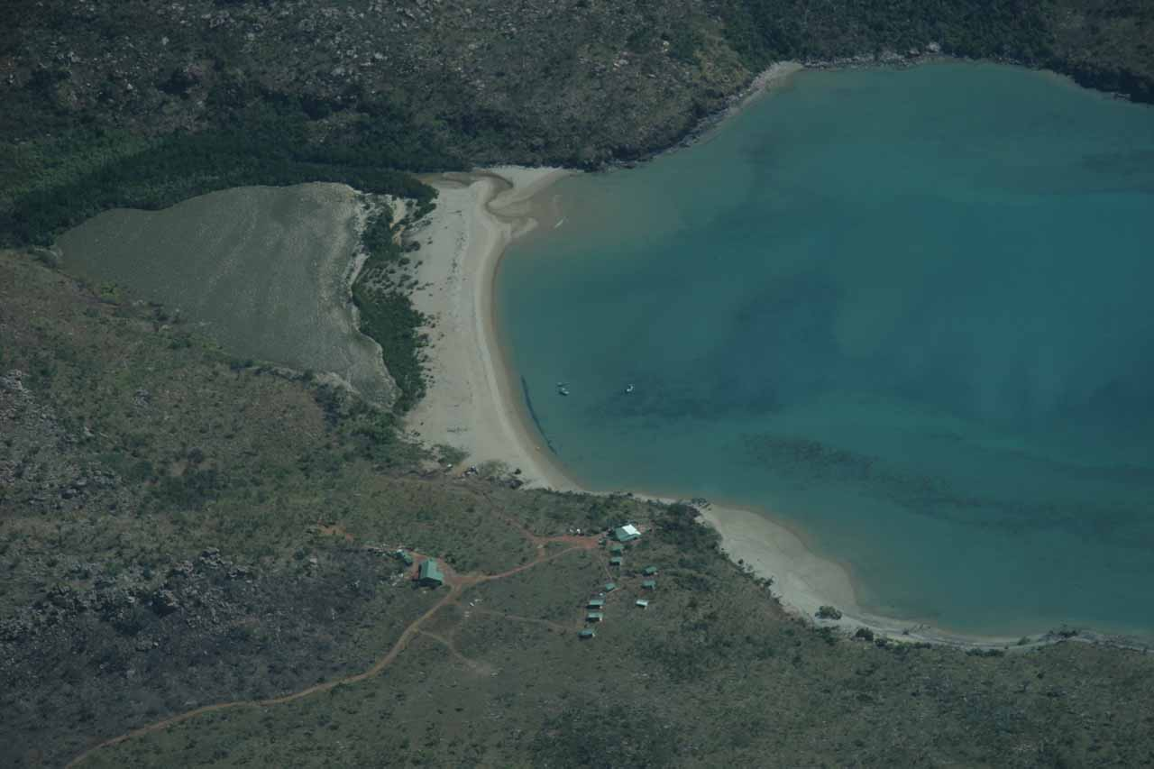 One of the exclusive and totally isolated resorts in the Kimberleys
