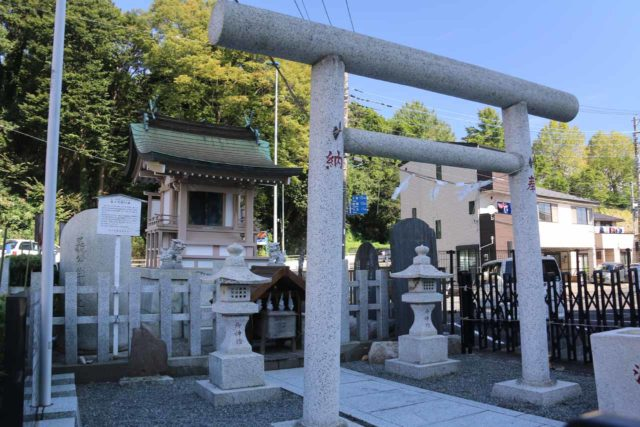 Mito_025_10152016 - This was the Mito Komon Shrine, commemorated the birthplace of Tokugawa Mitsukuni who was a feudal lord in the 17th century Edo Period credited with influencing the unification of Japan