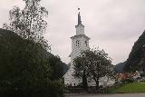 Mo_I_Modalen_007_06272019 - The Mo Church in the town of Mo, just south of the single-lane bridge over Moelva as seen in late June 2019. This photo and the next several shots were taken on this day